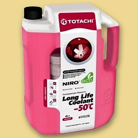 Антифриз TOTACHI NIro LLC RED -50 C Карбоксилатный 4 л