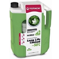 Антифриз TOTACHI NIro LLC GREEN -50 C Карбоксилатный 4 л