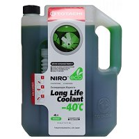 Антифриз TOTACHI NIro LLC GREEN -40 C Карбоксилатный 4 л